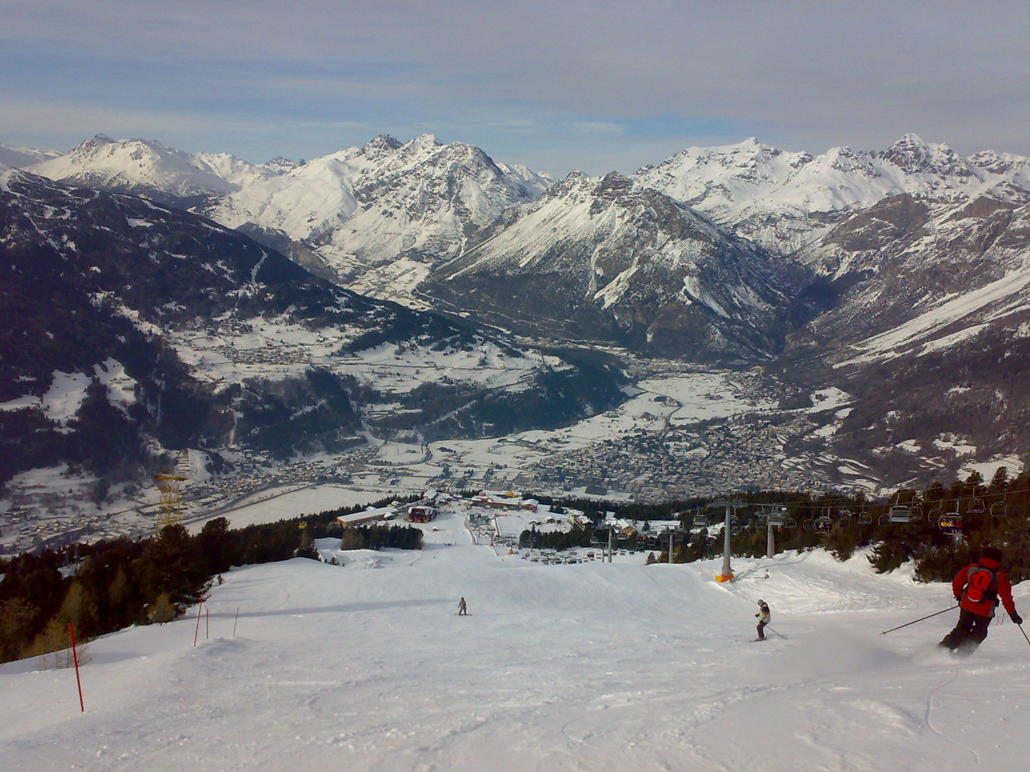 Bormio - B piste from the top