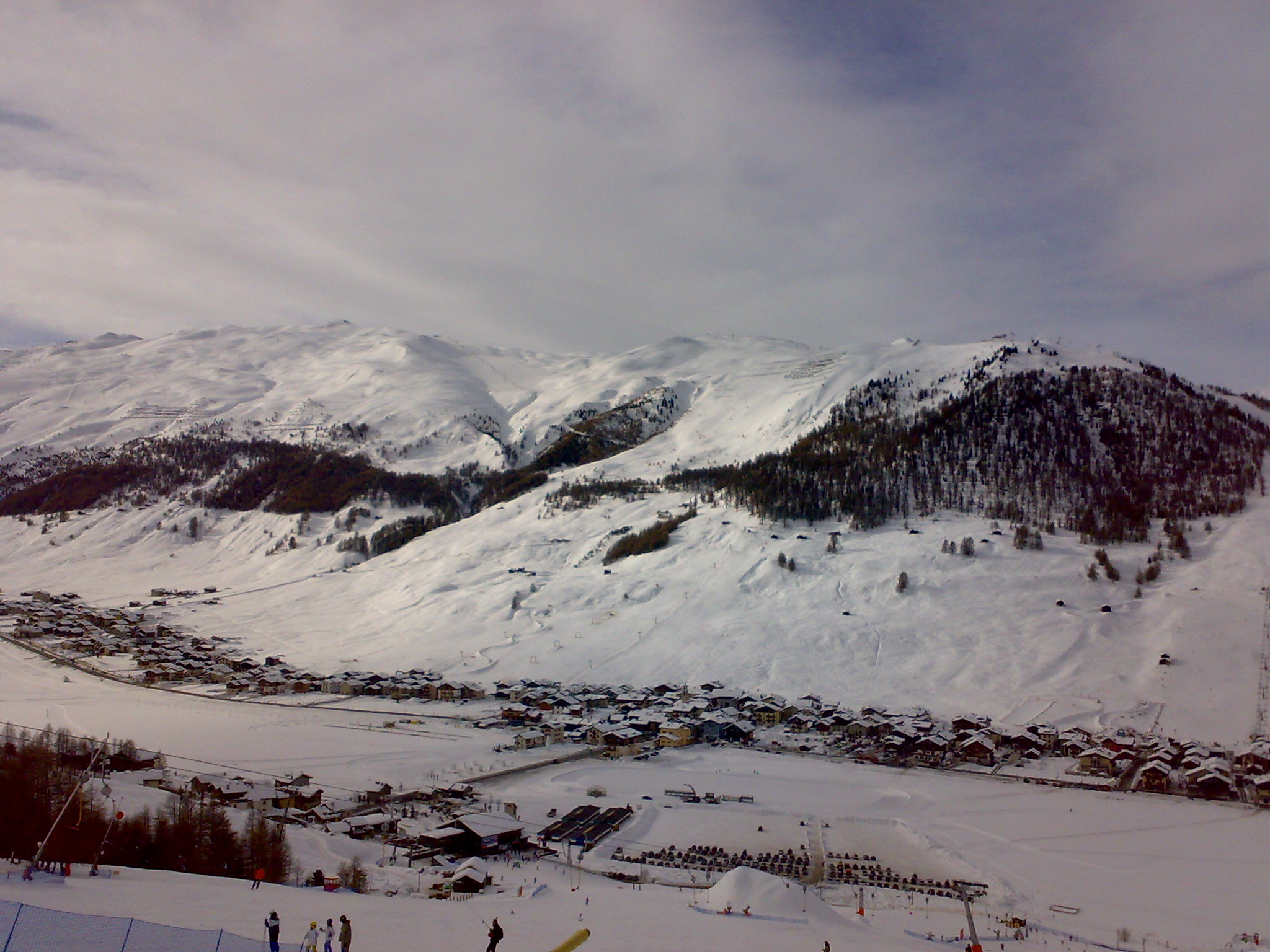 Livigno - View from Mottolino
